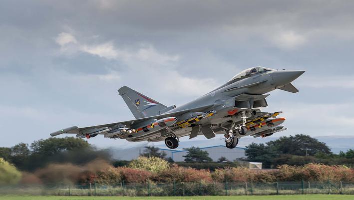 Eurofighter Typhoon Brimstone missile