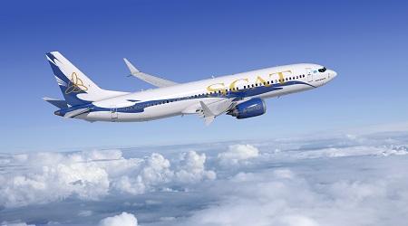 SCAT Airlines 737 MAX 8