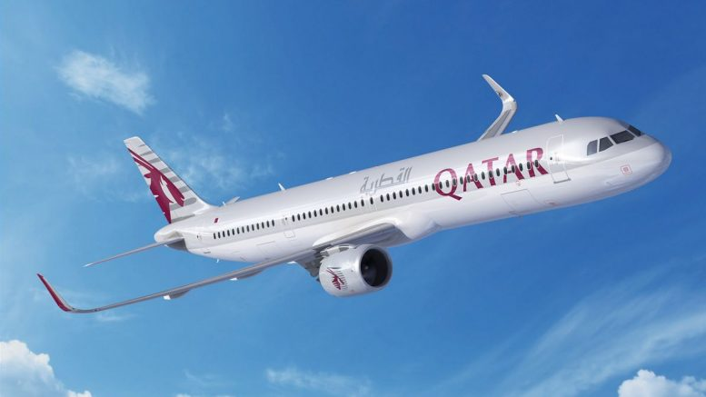 A321neo Qatar Airways