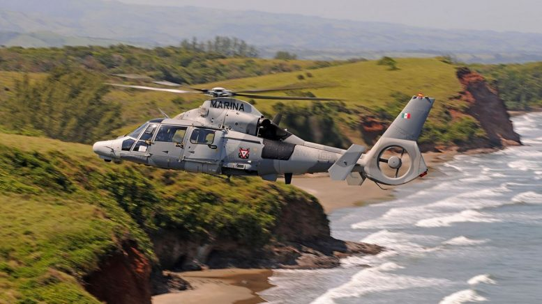 AS565 MBe Panther Mexican Navy