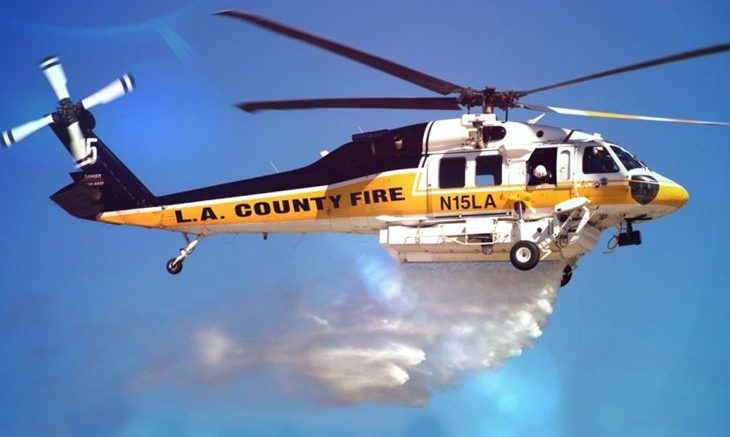 Firehawk Los Angeles County Fire Department