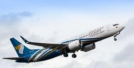 737 MAX8 Oman Air