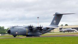 Airbus A400M 54+03 LTG62 German Air Force