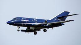 Dassault Falcon 20C G-FRAU Cobham Aviation