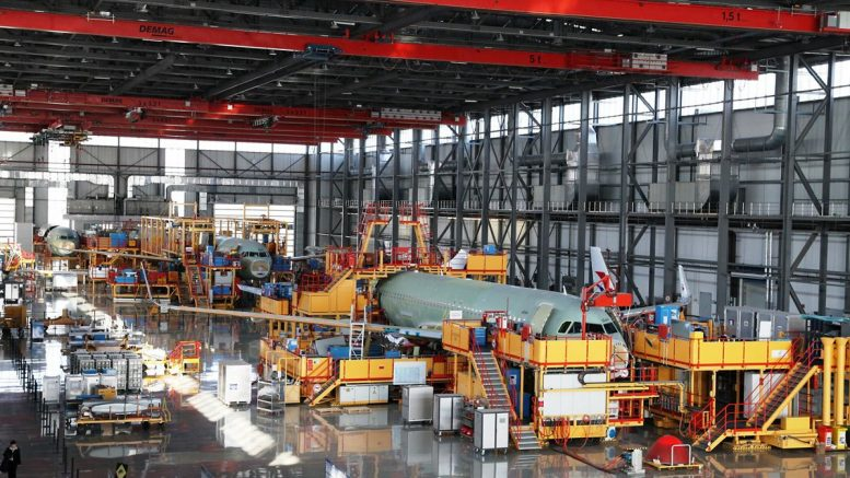 Tianjin A320 Final Assembly Line