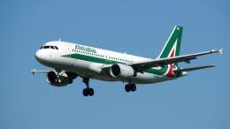 Airbus A320-216 EI-DSE Alitalia