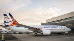 Boeing 737 MAX8 Travel Service