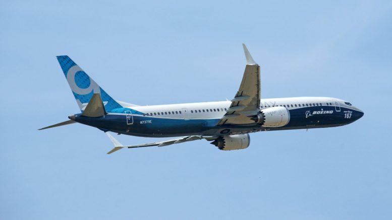 Boeing 737 MAX 9 N7379E Boeing Company