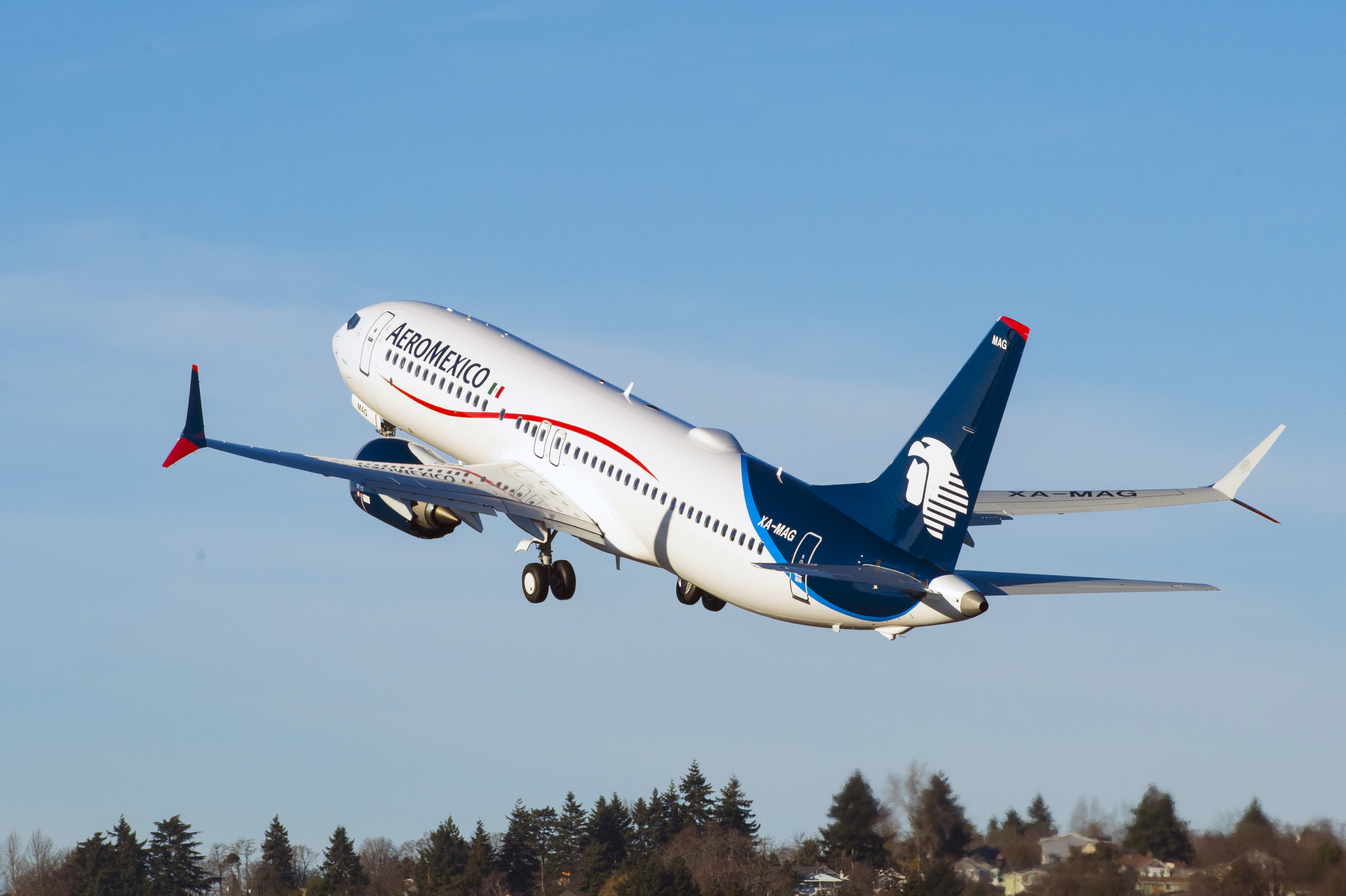BOEING AND AEROMEXICO CELEBRATE DELIVERY OF AIRLINE'S FIRST