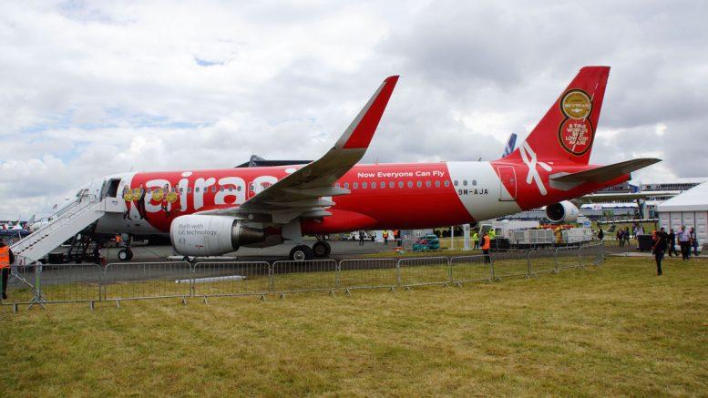 Airbus A320-216 9M-AJA AirAsia