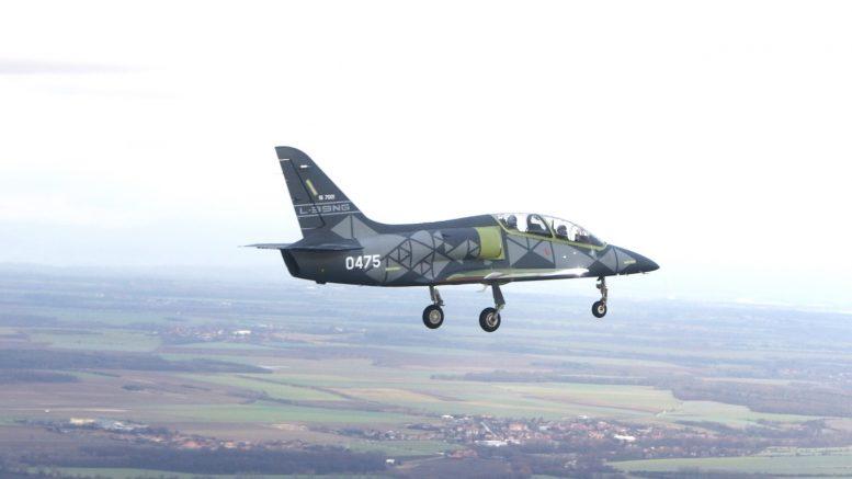 Новый чехословацкий реактивный самолёт L-39NG совершил свой первый полет, выполнив стендовые испытания